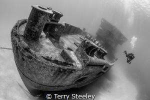 A true gem of the ocean, The USS Kittiwake is a wonderful... by Terry Steeley