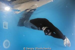 Freediver. by Sergiy Glushchenko