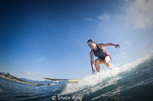 G O . S U R F I N G Surfer (Tiffany) Baler (Aurora), Ph... by Irwin Ang