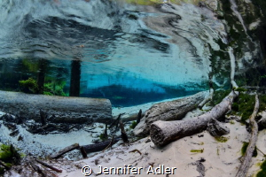 Underwater Wind - If we could see wind, I imagine this is... by Jennifer Adler