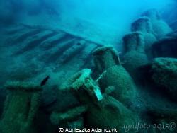 The Bou Ferrer shipwreck, in Villajoyosa. ( Olympus E-Pl5... by Agnieszka Adamczyk