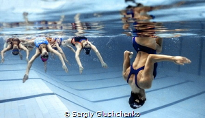 Synchronized swimming by Sergiy Glushchenko