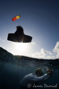 Photographing mermaids / Kite surfing legend Tom Court ju... by James Deverich