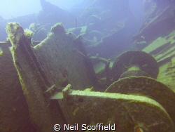 I took this picture in Gran Canaria whilst doing a wreck ... by Neil Scoffield