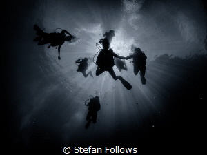 """""""Do not go gentle into that good night but rage, rage aga... by Stefan Follows"""