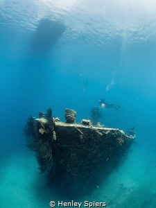 Getting Wrecked on a Sunday Lesleen M Wreck, Saint Lucia by Henley Spiers