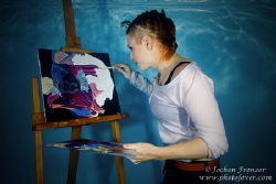 Underwater Painter - That's art! by Jochen Frenzer