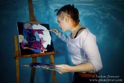 Underwater Painter - That's art! by Jochen Frenzer