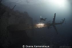 "Wreck ""Salem Express"" by Oxana Kamenskaya"