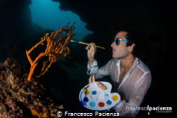 The painter of the sea by Francesco Pacienza