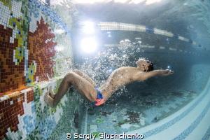 Swimmer by Sergiy Glushchenko
