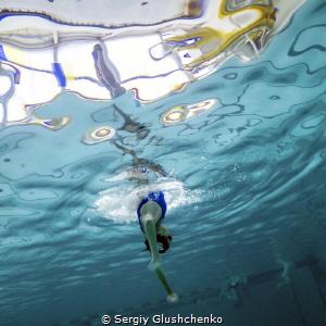 Synchronised swimming by Sergiy Glushchenko