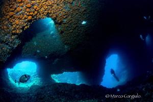Isa Cave, Massa Lubrense by Marco Gargiulo