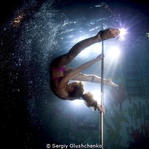 Pole dancing by Sergiy Glushchenko