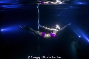 Pole-dancing by Sergiy Glushchenko