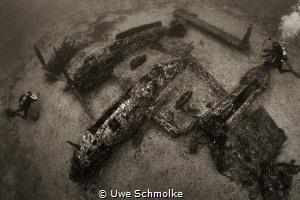 P 38 Lightning by Uwe Schmolke