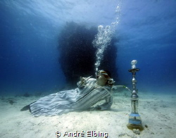 Enjoying my Shisha after 2 weeks photoshooting in Red Sea... by André Elbing