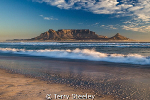 I left my heart in the waves... by Terry Steeley