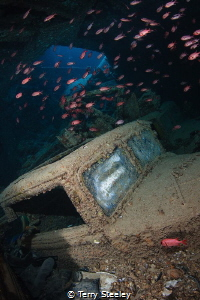 The treasures of the Thistlegorm