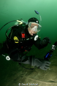 Cold water Diving at the Welland Scuba Park by David Gilchrist