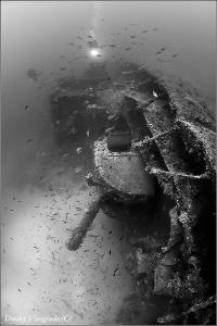 HMS Southwold Malta. 70 meters deep. by Dmitry Vinogradov
