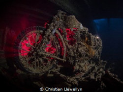 BSA M20 Motorbike  SS Thistlegorm : Red Sea  Launched :... by Christian Llewellyn