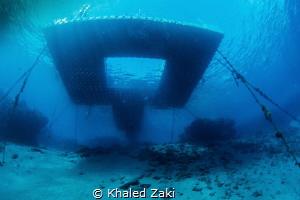 Coral Bay jetty Sharm El Shaikh by Khaled Zaki