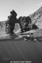 Roque de Bonanza El Hierro - Canary Islands by Claudia Weber-Gebert