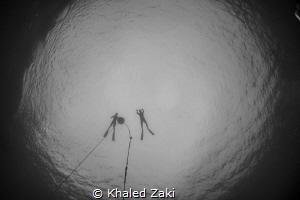 Free Divers by Khaled Zaki