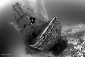 Fish boat by Dmitry Vinogradov