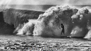 Happiness comes in salty water... by Terry Steeley
