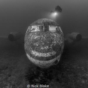 Jet Plane. Capernwray, Lancashire, UK by Nick Blake