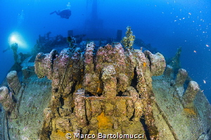 KT Nazi Wreck - Agropoli Italy by Marco Bartolomucci