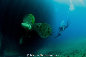 Cariddi Ferry Propeller by Marco Bartolomucci