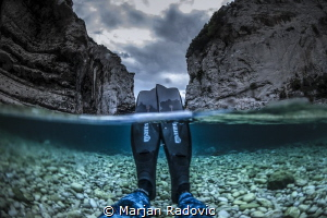 Chill after diving by Marjan Radovic