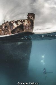 Mirna wreck by Marjan Radovic