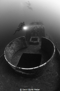 SG-114 Coastguard wreck from Sigacik/Turkey  Depth 30 me... by Sevil Gurel Peker