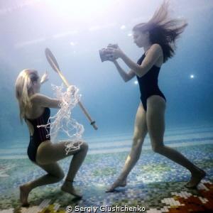 2 girls... by Sergiy Glushchenko