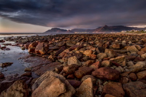 The beautiful coastline of Kommetjie as one looks back to... by Chris Pienaar