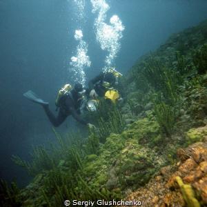 Retro-diving. by Sergiy Glushchenko
