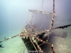 A tiny wreck at 35 meters by Xiaoqian Cui