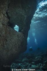 cave entrance at El HIerro by Claudia Weber-Gebert