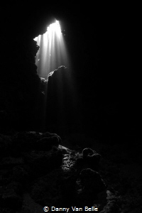 Cave near Dahab by Danny Van Belle