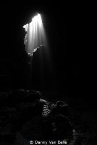 Cave near Dahab by Danny Van Belle