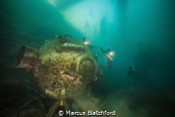 Diving Bell in NDAC, Chepstow by Marcus Blatchford