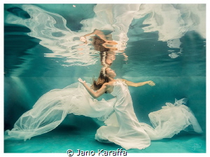 Water faerie - The photography was taken as part of uw we... by Jano Karaffa