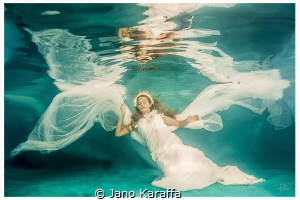 Water faerie II - The photography was taken as part of uw... by Jano Karaffa