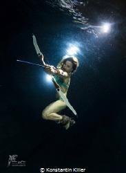 UW Model : Nadine N.  Fotograf: Konstantin Killer  Sich... by Konstantin Killer
