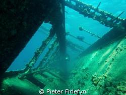 Umbria wreck near the port Sudan! by Pieter Firlefyn