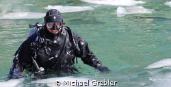 Some people truly enjoy ice diving. Canon 6D, 24-105 lens... by Michael Grebler